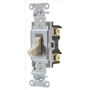 Hubbell-Bryant CS320BI Switch, Comm, 3w, 20a 120/277v, Sw, Iv