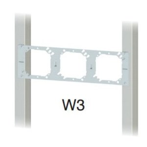 Cablofil W3 Wall Bracket, 3 Openings