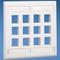 Panduit NK12FIWY NetKey® 12-PORT, Two Gang Off White