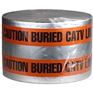 "Dottie DU608 6"" X 1000' Detectable Tape 5 Mil Catv - Orange"