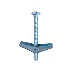 "Dottie TB45 Toggle Bolt, Slotted Mushroom Head, 1/4"" x 5"""