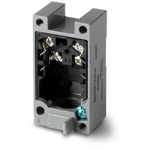 Eaton E50RB Limit Switch Receptacle, 2P, 600VAC Rated, Heavy Duty, (E50)