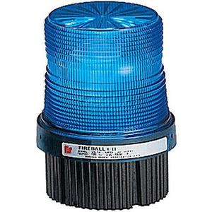 Federal Signal FB2PST-120B Beacon, Type: Strobe, Blue, Voltage: 120VAC, 4""