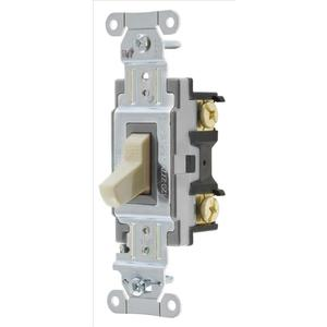 Hubbell-Bryant CS115BI Switch, Comm, Sp, 15a 120/277v, Sw, Iv