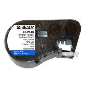 "Brady MC-375-422 Mseries B422 White 0.375""x25' 1 Roll Hf"