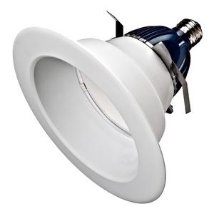 """Cree Lighting CR6-625L-40K-12-E26 LED Downlight, 6"""", 9.5W, 120V, White, 4000K"""