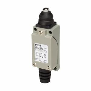 Eaton E49G31BP3 Limit Switch, Mini Metal, Top Pushbutton, 1no/1nc