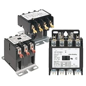 Allen-Bradley 400-DP30NF3 Contactor, Definite Purpose, 30A, 3P, 277VAC Coil, 600VAC Rated