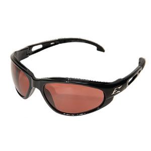 Wolf Peak SW115 Dakura Protective Eyewear, Full Frame, Gloss Black Frame/Copper Lens