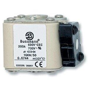 Eaton/Bussmann Series 170M6421 Fuse, 2000A Square Body, Flush End, Size 3, Visual Indicator, 690/700V