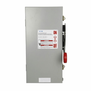 Eaton DH361FDK2WR Harsh Environment Safety Switch With Receptacle