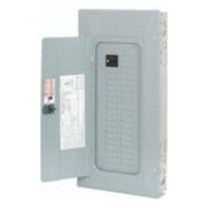 Eaton BR3030BC150 Load Center, Main Breaker, 150A, 120/240V, 1PH, 30/30, NEMA 1