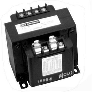 Eaton C0100E1B Transformer, Industrial Control, 100VA, 120/240 x 24VAC, w/Fuse Clip