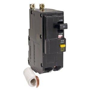 Square D QOB230GFI Breaker, Bolt-On, GFCI, 30A, 2P, 120/240VAC, QOB Type, 10 kAIC, 6mA