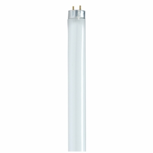 Satco S8410 25W, T8, Fluorescent, 3000K, 85 CRI, Medium Bi Pin