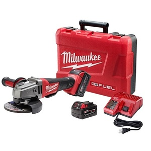 "Milwaukee 2780-22 M18 FUEL™ 4-1/2"" / 5"" Grinder, Paddle Switch No-Lock"