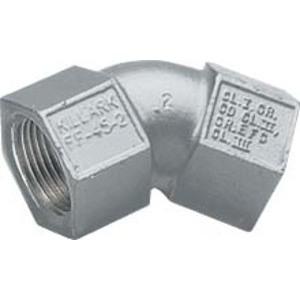 "Hubbell-Killark FF-90-3M 90° 1"" Iron Elbow, Female/Female"