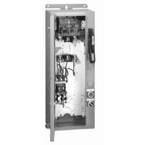 Allen-Bradley 1232-DNA-A2L-26R-HUB Pump Panel, NEMA 3, 240VAC Coil, 3R, Enclosure, E1 Overload Relay