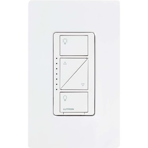 Lutron PD-6WCL-WH Wallbox RF Dimmer, 600W, White