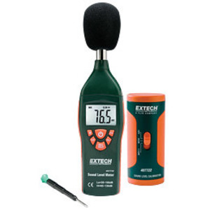 Extech 407732-KIT Sound Meter Kit, Digital