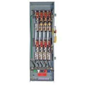 Eaton DT365URKLC Safety Switch, Double Throw, Heavy Duty, 400A, 3P, 600VAC, NEMA 3R