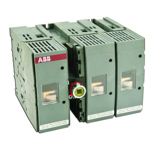 ABB OS60GJ12 Disconnect, Fused, 60A, 3P, Class J, 600VAC, Front Operated