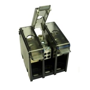 Mersen MPDB63140 Power Distribution Block, Snap-on Adder Pole, Box-Stud Configuration