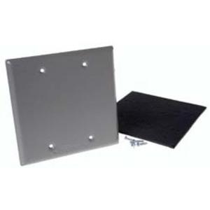 Hubbell-Raco 5175-5 Wp Cvr 2g Devmt Blank Gry Crd