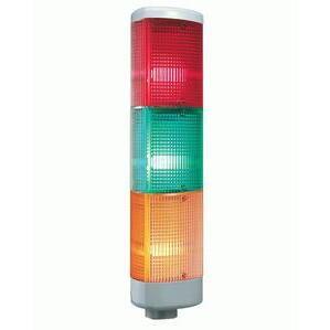 Edwards 102LS-FLEDA-N5 Stack Light, Flashing LED, Amber
