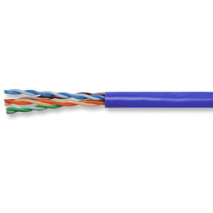 Superior Essex 77-246-2B Category 6 Cable, Plenum, 23 AWG - 4 Pair, Blue