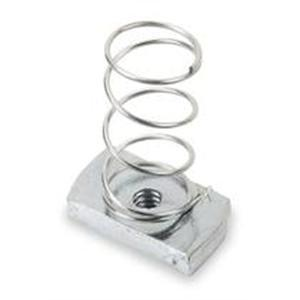 "Kindorf B-911-1/2 Spring Channel Nut, Size: 1/2"", Steel/Galvanized"
