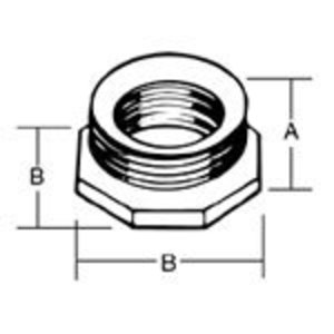 Steel City RB-421 3/4 TO 1/2 REDUCER