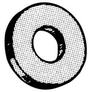 Superstrut E147-1/2 Flat Steel Washer