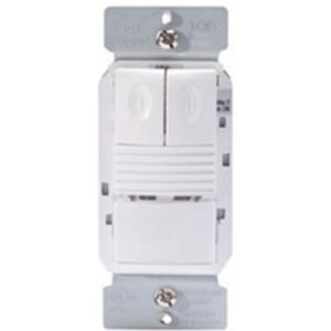 Wattstopper PW-302-W PIR Dual Relay Occ Sen, Light Level, w/ Neutral
