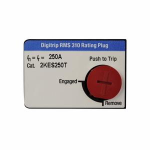 Eaton 2KES175T Breaker, Molded Case, 175A, Rating Plug, 3P, 250A, KD Frame