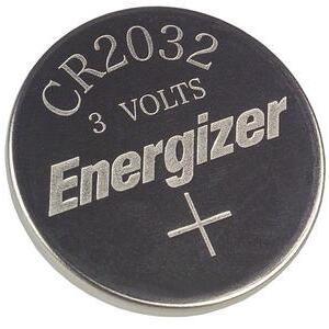 Energizer ECR2032BP 3V Lithium Coin Battery, 240 mAh, Size 2032