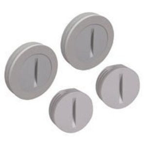 "Hubbell-TayMac PCP47550GY Closure Plug Assortment Pack, (2) 1/2"" & (2) 3/4"", Gray, Non-Metallic"