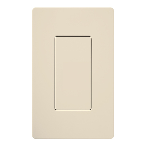 Lutron DV-BI-LA Blank Insert, Light Almond, Diva Gloss Finish