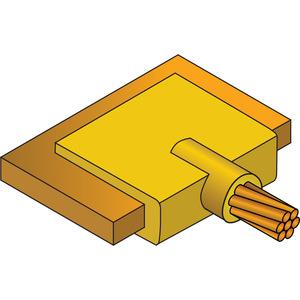 Erico Cadweld LJCEG1T Cable to Lug or Busbar