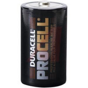 Duracell PC1300 Battery, 1.5V, D, Alkaline