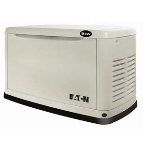 Eaton EGENX8 Standby Generator System, 8 kW, 120/240V, Used with Air-Cooled