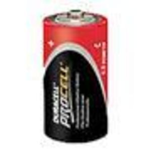 Duracell PC1400 Battery, 1.5V, C, LR14, Alkaline