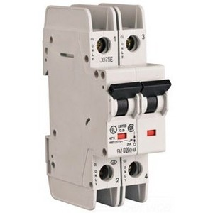 Eaton FAZ-C10/2-NA 10A, 2P, 277/480V, 48VDC, 10 kAIC, C-Curve, UL 489