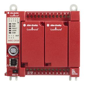 Allen-Bradley 440C-CR30-22BBB Safety Relay, Configurable, 20.4 -26.4VDC, 5.28W, 22 I/O