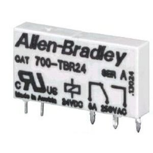 Allen-Bradley 700-TBR60 Relay, Replacement, 700-HL Terminal Block, 110/125V, 220-240V AC/DC