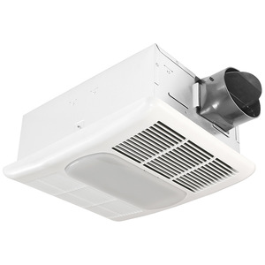 Delta Products RAD80L 80 CFM Fan/Light/Heater, Compact Fluorescent, Energy Efficient