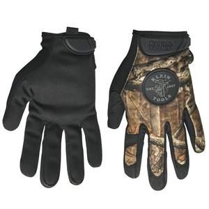 Klein 40209 Camouflage Gloves, Large