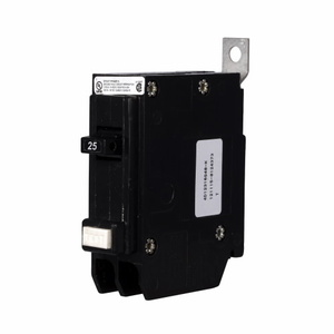Eaton QBGF1025 Breaker, 25A, 1P, 120V, 10 kAIC, Ground Fault