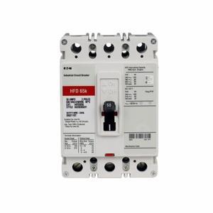 Eaton HFD3150S02 Breaker, Molded Case, 150A, 3P, 600VAC, 250VDC, 65kAIC, Shunt Trip