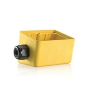 Leviton 3300-2Y 2g Rubber Box Angled